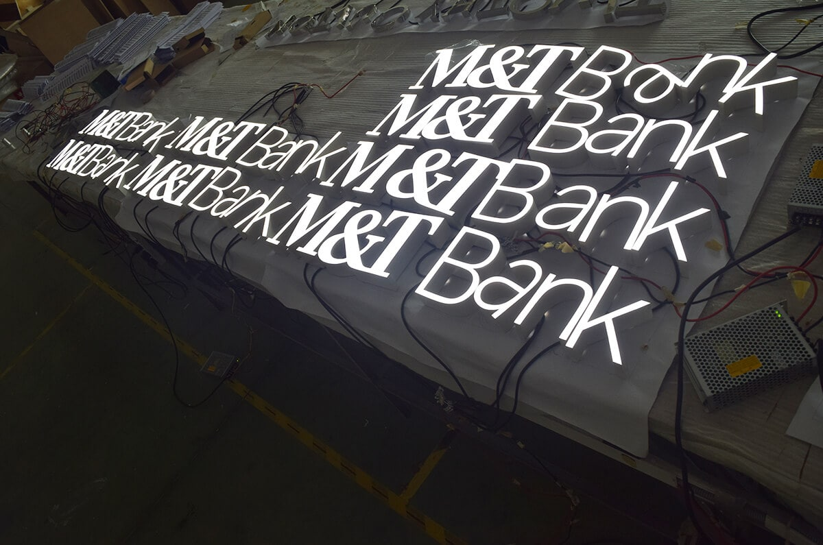 LED Epoxy Resin Signs