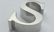 3D Stainless Steel Lettering