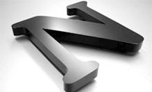 Painted 3D Aluminum Letters