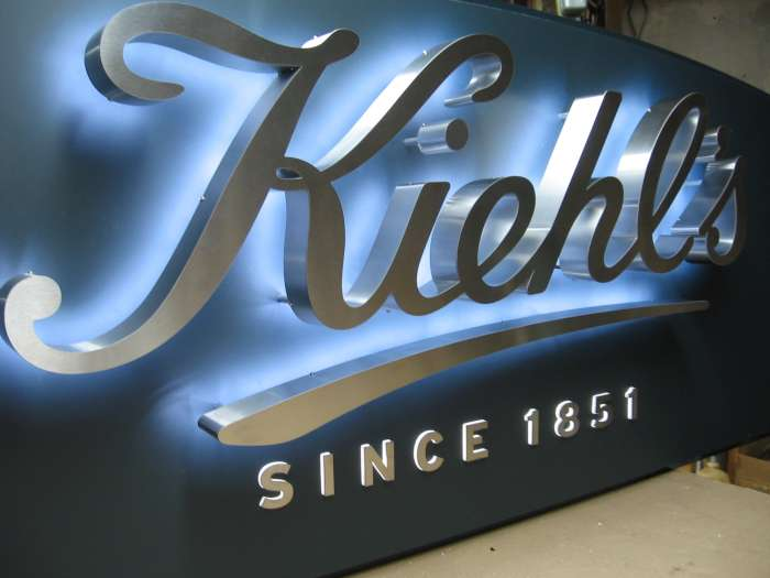 Stainless Steel Reverse Channel Letters