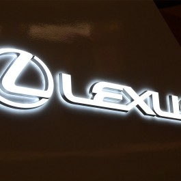 LED Double-sided-lit Acrylic Signs